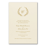 Naturally Entwined - Invitation
